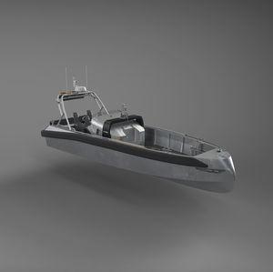 Such- und Rettungsboot Berufsboot / in-board Hydrojet / Diesel / selbstaufrichtend
