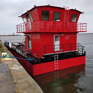Bagger-Berufsboot / Innenborder / Diesel
