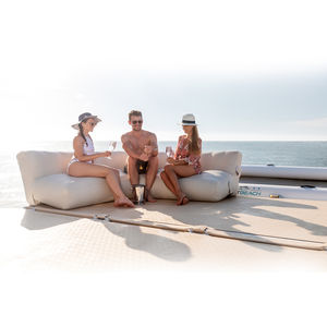 Schwimmendes Sofa / für Boot
