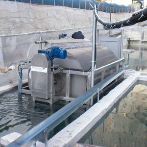Drehfilter / für Aquakultur