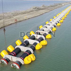 Schwimmkörper für Pipeline / zylinderförmig / aufblasbar