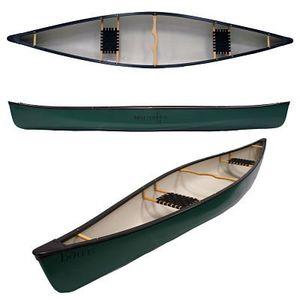 Kanu für Bootstouren / Flachwasser / Wildwasser / 2 Plätze
