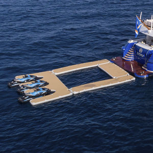 Schwimmbecken mit Auftrieb / Modular / für Yachten