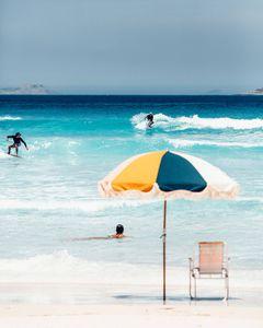 Sonnenschirm für Boot