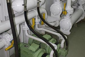 Hydraulikaggregat für Berufsschiffe