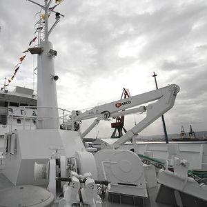 Kran für Schiffe