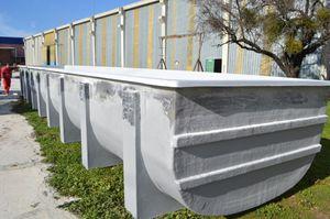 Zuchtbecken für Aquakultur