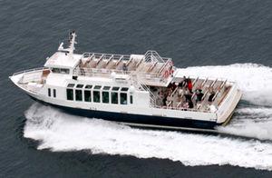Taxiboot Berufsboot / Innenborder / Aluminium