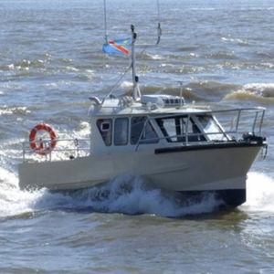 Boot für hydrographische Studien Berufsboot / Innenborder / Aluminium