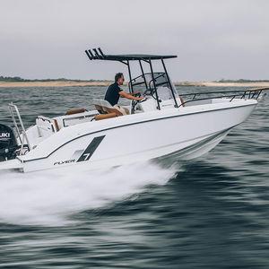 Außenbord-Konsolenboot / Mittelkonsole / Wasserski / schnell