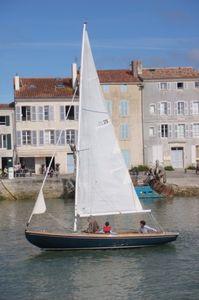 taditionelles Segelboot