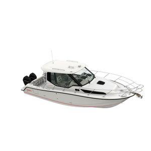 Express Cruiser / Außenbord / zweimotorig / mit Ruderhaus / Sportfischer