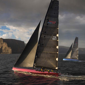 Segel-Yacht / Regatta