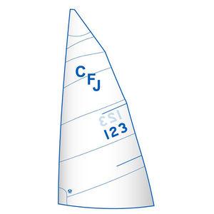 Großsegel / für One-Design Regatta Kielboote / für Regattasegelboote / cross-cut