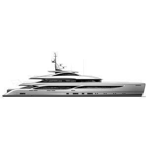 Fahrten-Megayacht / Raised Pilothouse / Stahl / Aluminium