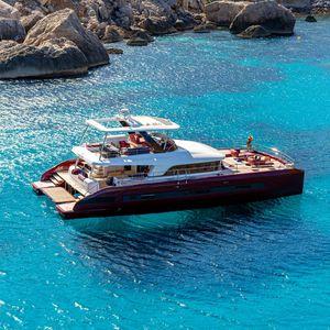 Katamaran-Motoryacht
