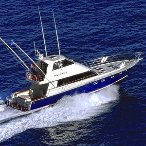 Sportfischer-Motoryacht