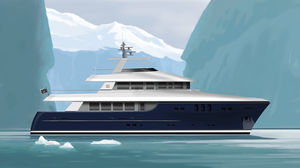 Motoryacht für Expeditionen