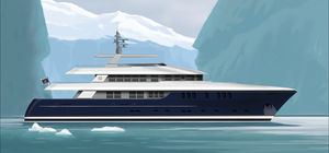 Superyacht für Expeditionen