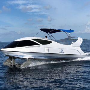 Ausflugsboot Berufsboot / Tourismusboot / Glasbodenboot / Innenborder