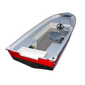 Bay-Boat / Außenbord / Seitenkonsole / Sportfischer / Aluminium