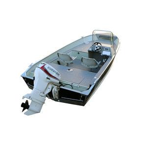Bay-Boat / Außenbord / Sportfischer / Aluminium