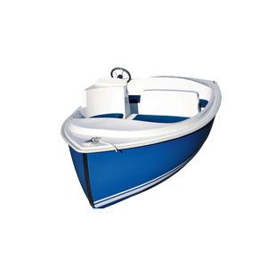 elektrisches offenes Boot / Innenborder / für Freizeitanlagen / max. 5 Personen