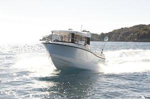 Angelboot für Tagesfahrten / Außenbord