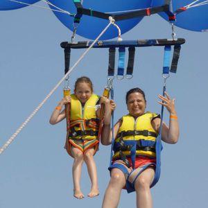 Parasailing-Fallschirm-Halterung / für zwei Personen