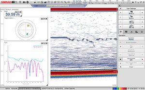 Echolot für hydrographische Studien
