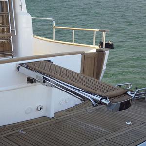 Gangway für Boote / für Yachten / Teleskop / Multifunktion