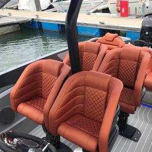 Steuermannsitz / für Boot / mit Armlehnen / elektrisch