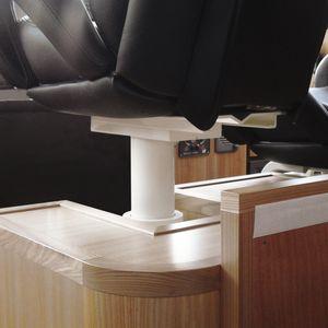 Untergestell für Steuermannstühle / für Boote / einstellbar / elektrisch / Metall