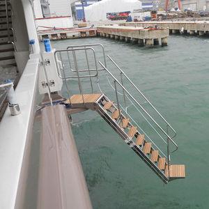 Bootsleiter / für Stege / seitlich / Boarding