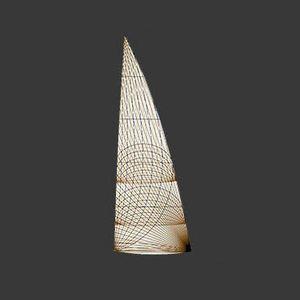 Großsegel / für Fahrtensegelboote / Membran / aus Carbon