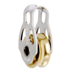 Block mit Gleitlager / Einzel / Bügel / max. Tau 6 mm