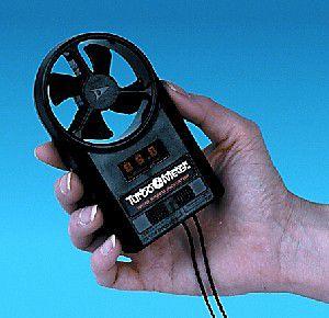 mobiler Windmesser