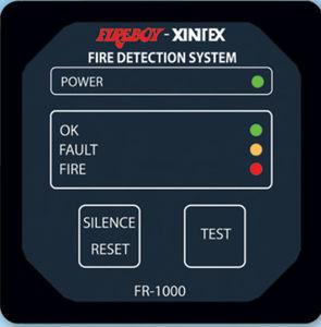 Alarmsystem für Boot / Brand