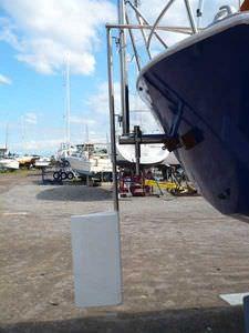Notrruderblatt für Segelboote