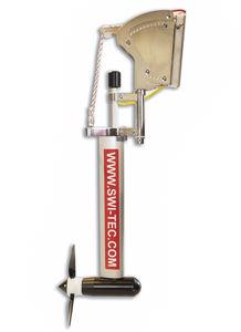 Wasserrad-Generator / für Boote