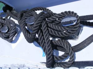 Klampe für Segelboote