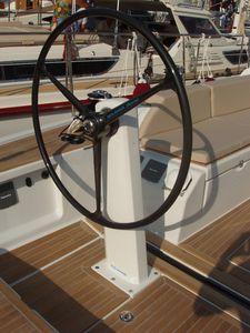 Steuerrad für Segelboote