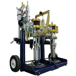 Klebstoff-Spritzmaschine / mobiler / für Werft