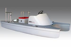 Katamaran-Konsolenboot