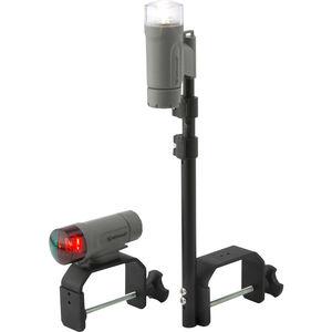 Navigation Leuchten / für Boot / Glühlampen / dreifarbig / batteriebetrieben