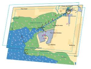 digitale Seekarte