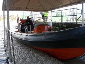 Überdachung für Boot