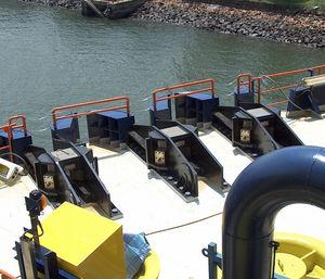 Kettenstopper für Schiffe