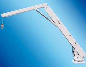 Davit für Boot / hydraulisch / Teleskop / schwenkbar