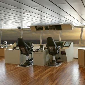 Untergestell für Steuermannstühle / für Schiffe / Schienen / Metall